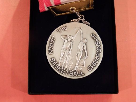 天皇杯銀メダル