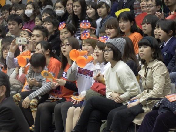 2105年1月21日広島サンプラザのファン
