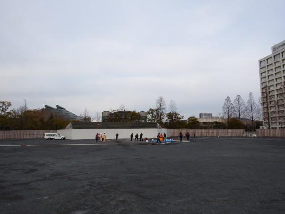 2015年1月29日の球場跡地