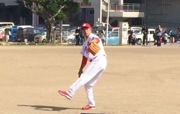 黒田キャッチボール