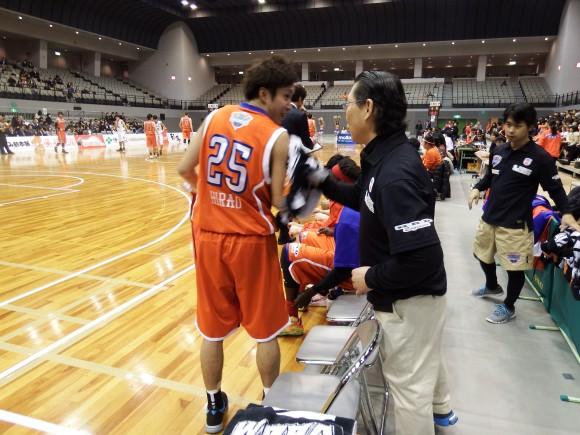 寛田先生と平尾選手