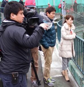 山田幸美さんとクルー