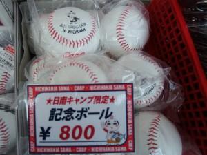 日南記念ボール