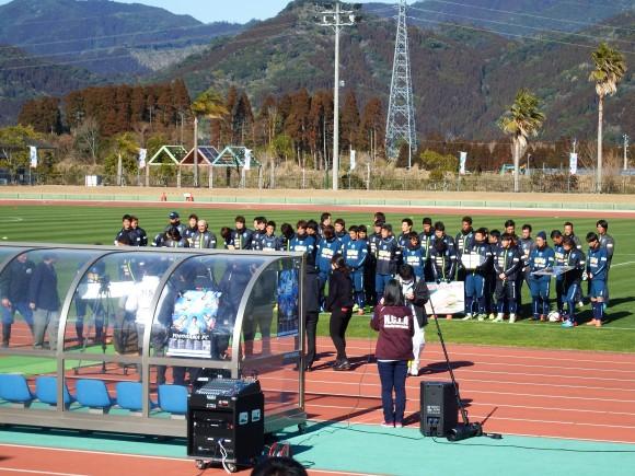 横浜FC日南キャンプ開始2015年2月9日
