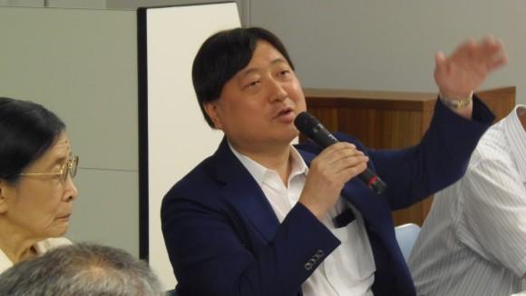 小谷野薫氏
