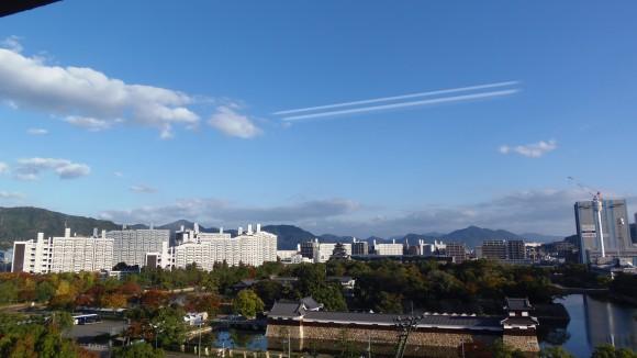 広島市北方面を望む