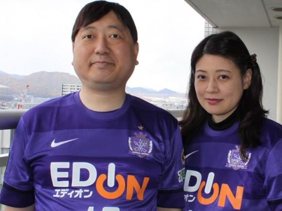 小谷野薫さんと夫人