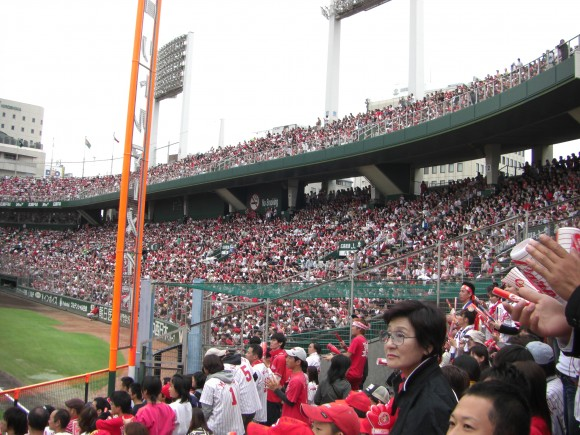 広島市民球場ライトスタンド