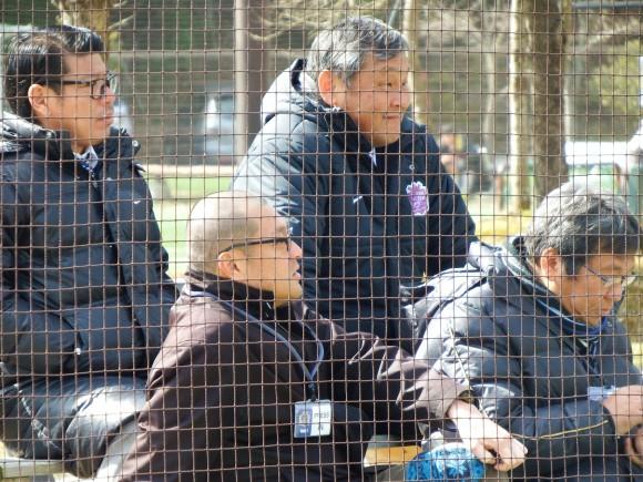 足立強化部長と織田社長2015年2月28日
