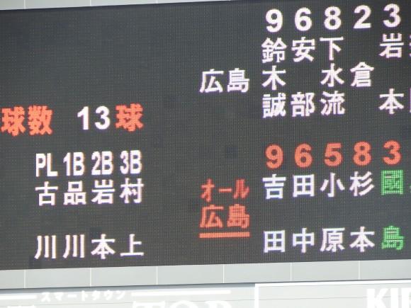 球数表示スタート2015年3月5日