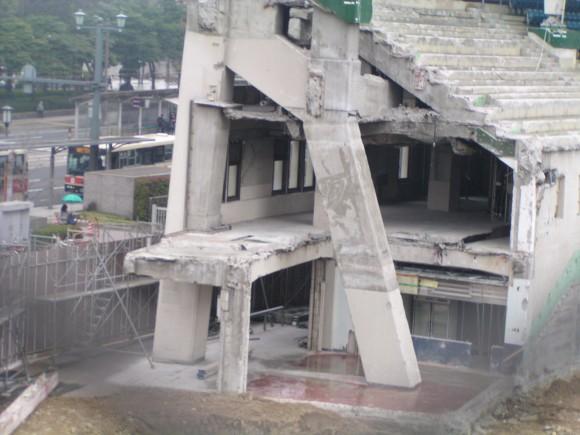 広島市民球場解体