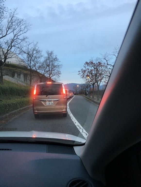 エディオンスタジアム広島 渋滞