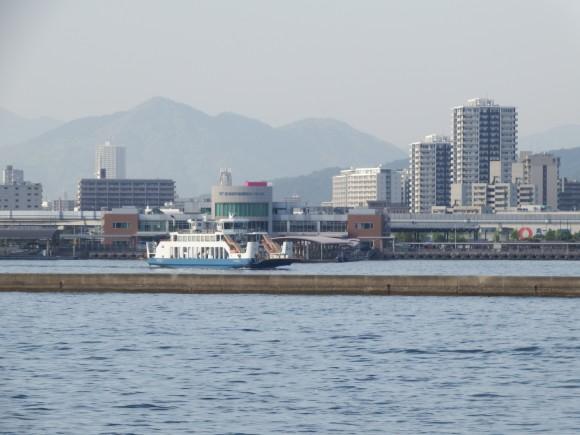 宇品ターミナル 広島風景