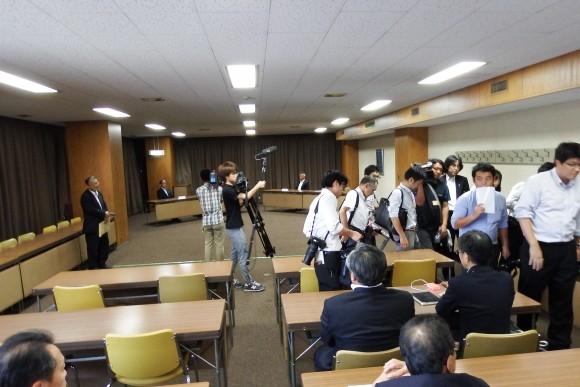 旧広島市民球場跡地 4者会談