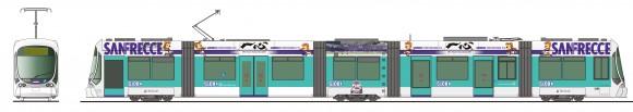 サンフレッチェ広島 電車 2017