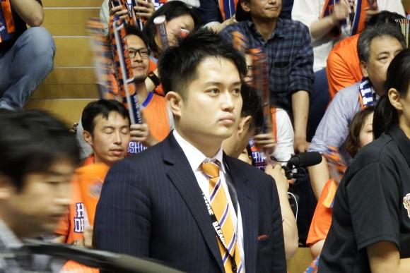 浦伸嘉代表取締役社長 島根スサノオマジック