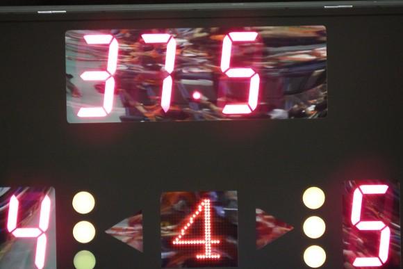 37秒表示 島根スサノオマジック