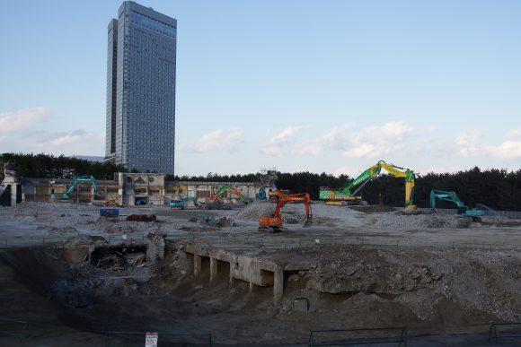 旧広島市民球場跡地 シーガイア