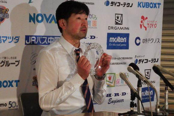 堀田剛司ヘッドコーチ