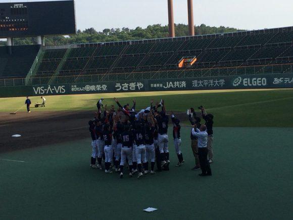 福山大学野球部優勝