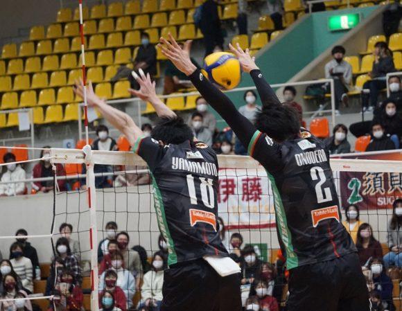 小野寺選手のブロック